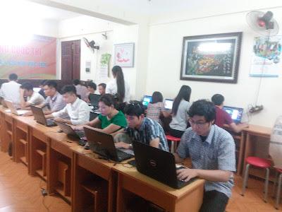 Lớp học photoshop tại Mĩ Đình