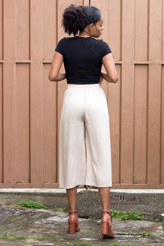 Como usar a calça pantacourt, Como usar pantacourt, Pantacourt