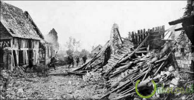 Serangan Musim Semi/Serangan Ludendorff 1918 (1.539.715 korban)
