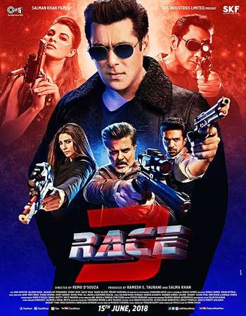 Race 3 2018 Full Hindi Movie Download In Pvdrip