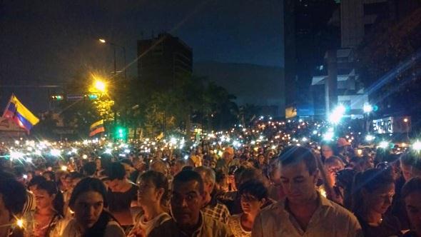 Oposicion convoca HOY a marcha por los caidos - mira la ruta en la Capital ...
