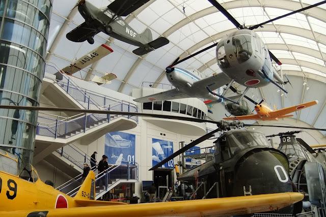 tokorozawa-aviation-museum 所沢航空発祥記念館内部展示