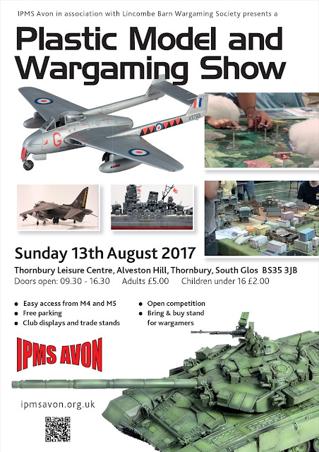 IPMS Avon Plastic Model and Wargaming Show 2017