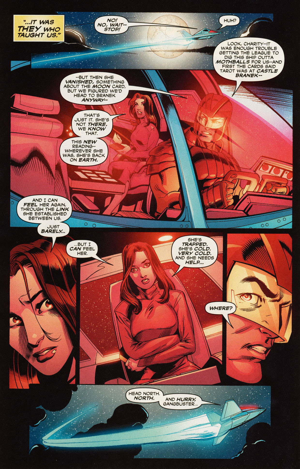 Read online Trinity (2008) comic -  Issue #46 - 13