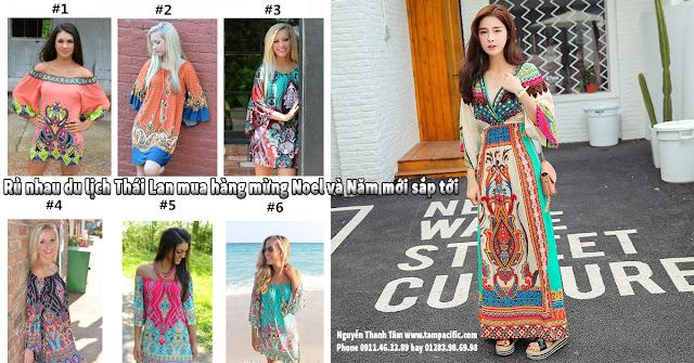 Thời trang sành điệu dành cho du khách nước ngoài đi du lịch Thái Lan