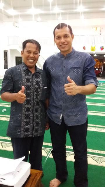SWAFOTO :  Penulis berkesemoatan jumpa langsung dengan  Danwing XII Lanud Supadiodi Pontianak Kalimantan Barat Muhammad Yani Amirullah. Barat   Foto Ist
