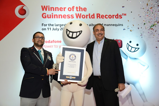 Images of Vodafone Guinness World Record - ZooZoo has helped Vodafone India create a GUINNESS WORLD RECORD