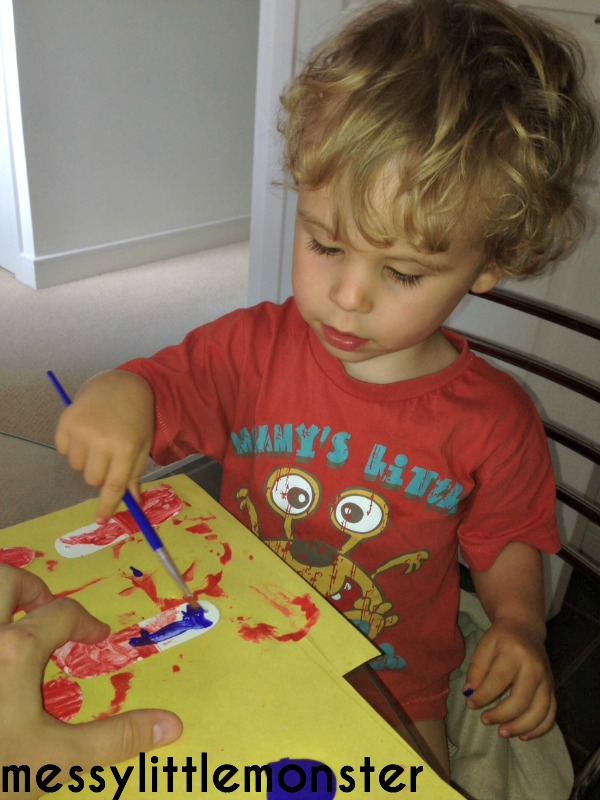 Spiderman craft activity ideas for kids.