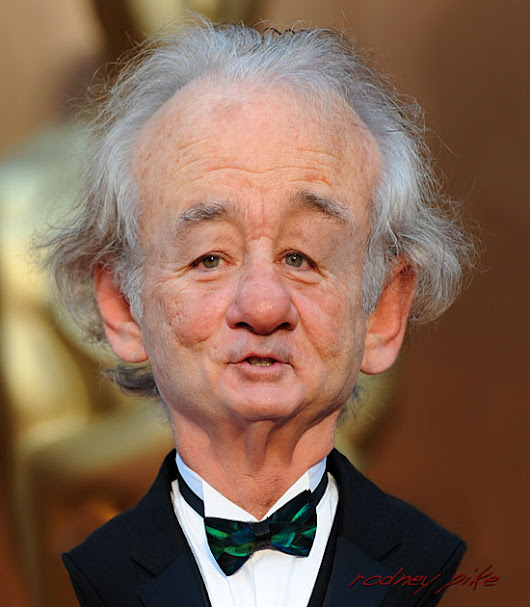 Bill Murray Handsome As Ever