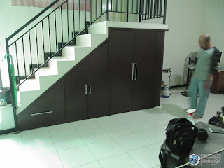 Furniture Semarang - Almari Bawah Tangga