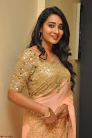 Bhanu Shri looks stunning in Beig Saree choli at Kalamandir Foundation 7th anniversary Celebrations ~  Actress Galleries 037.JPG