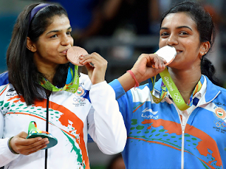Pullela Gopichand, Sakshi Malik, P V Sindhu, Olympics, India at the Olympics, Olympics medals tally, Excellence, hard power, soft power, India, PT education, PT's IAS Academy, BrightSparks blog, Sandeep Manudhane