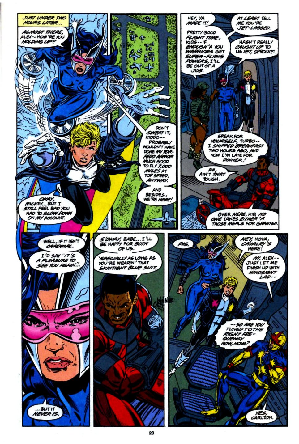 The New Warriors Issue #55 #59 - English 18