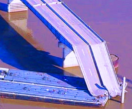 Bridges damaged/destroyed during selected floods