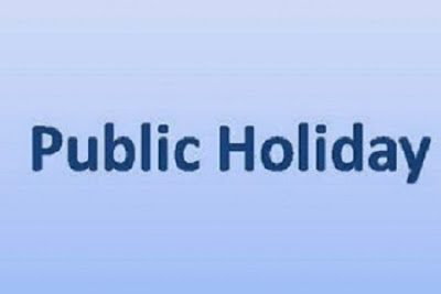JUST IN: FG Declares 3-day Public Holiday to Mark Christmas, Boxing Day and New Year Celebrations