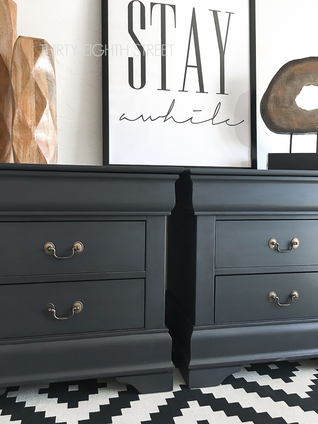 painting furniture, furniture makeover, pure and original paint, classico paint, furniture makeovers, painted nightstands