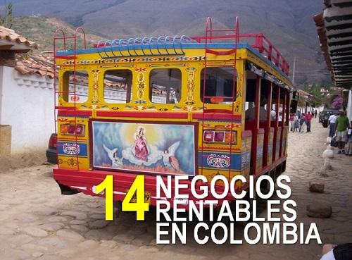 14 Negocios Rentables En Colombia