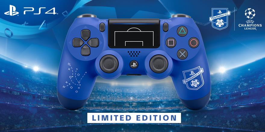 Se presenta mando PS4 limitado tematizado con fútbol