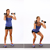Leg Exercises with Dumbbell.