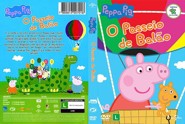 Capa DVD Peppa Pig O Passeio de Balão [Custom]
