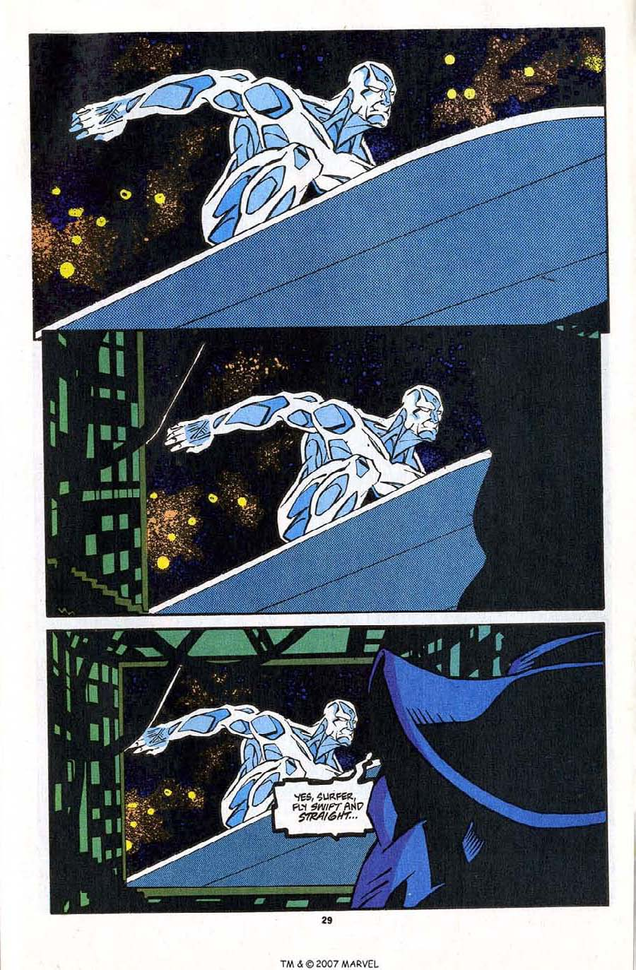 Read online Silver Surfer (1987) comic -  Issue #83 - 31