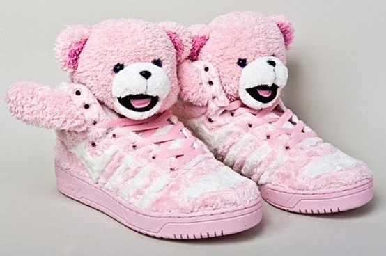 Teddy Bear Sneakers, Jeremy Scott for Addidas Originals