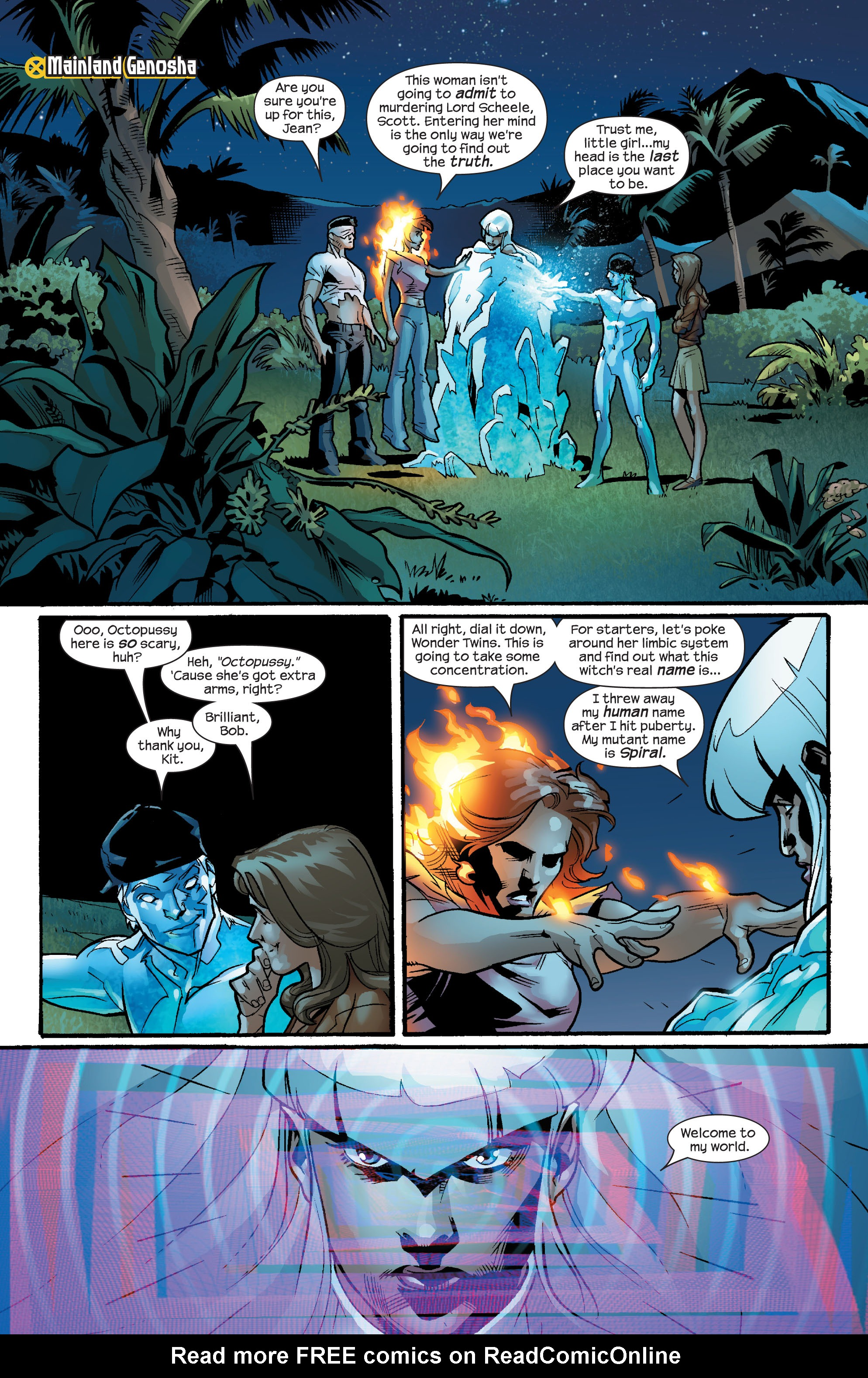 Read online Ultimate X-Men comic -  Issue #57 - 5