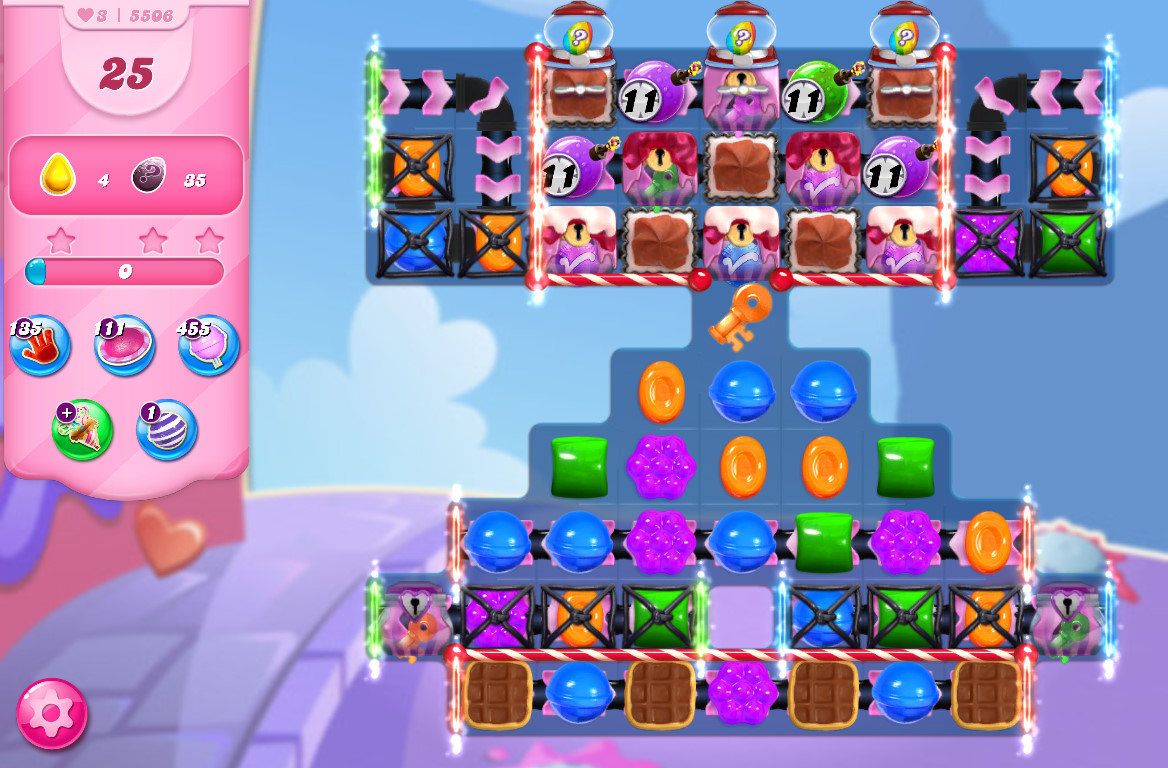 Candy Crush Saga level 5506