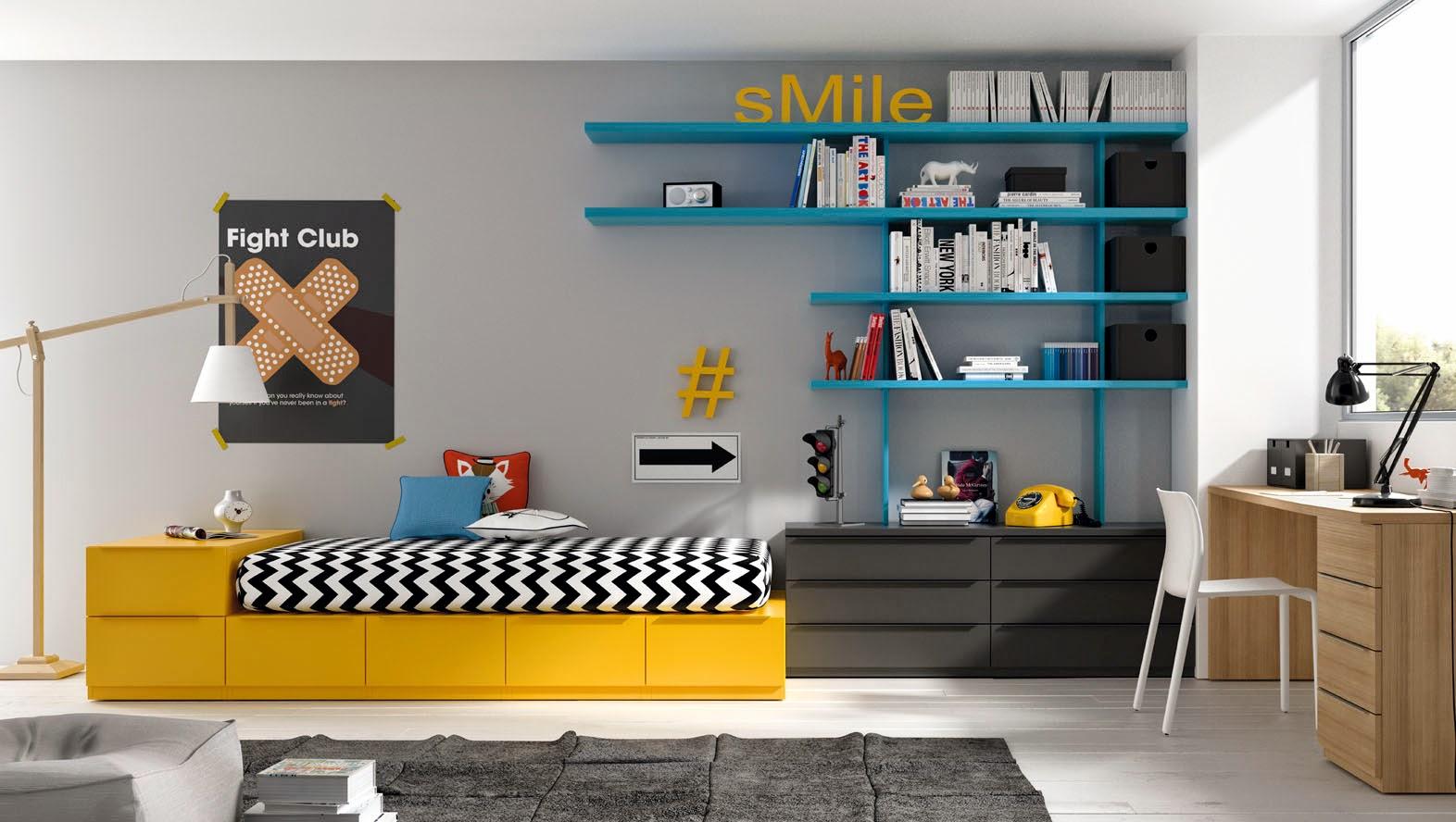 Decoracion Dormitorio Juvenil Chico Simple Decoracion Dormitorio  # Muebles Todo Joven