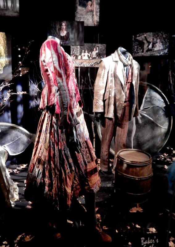 Baker's Wife and Father Into the Woods film costumes