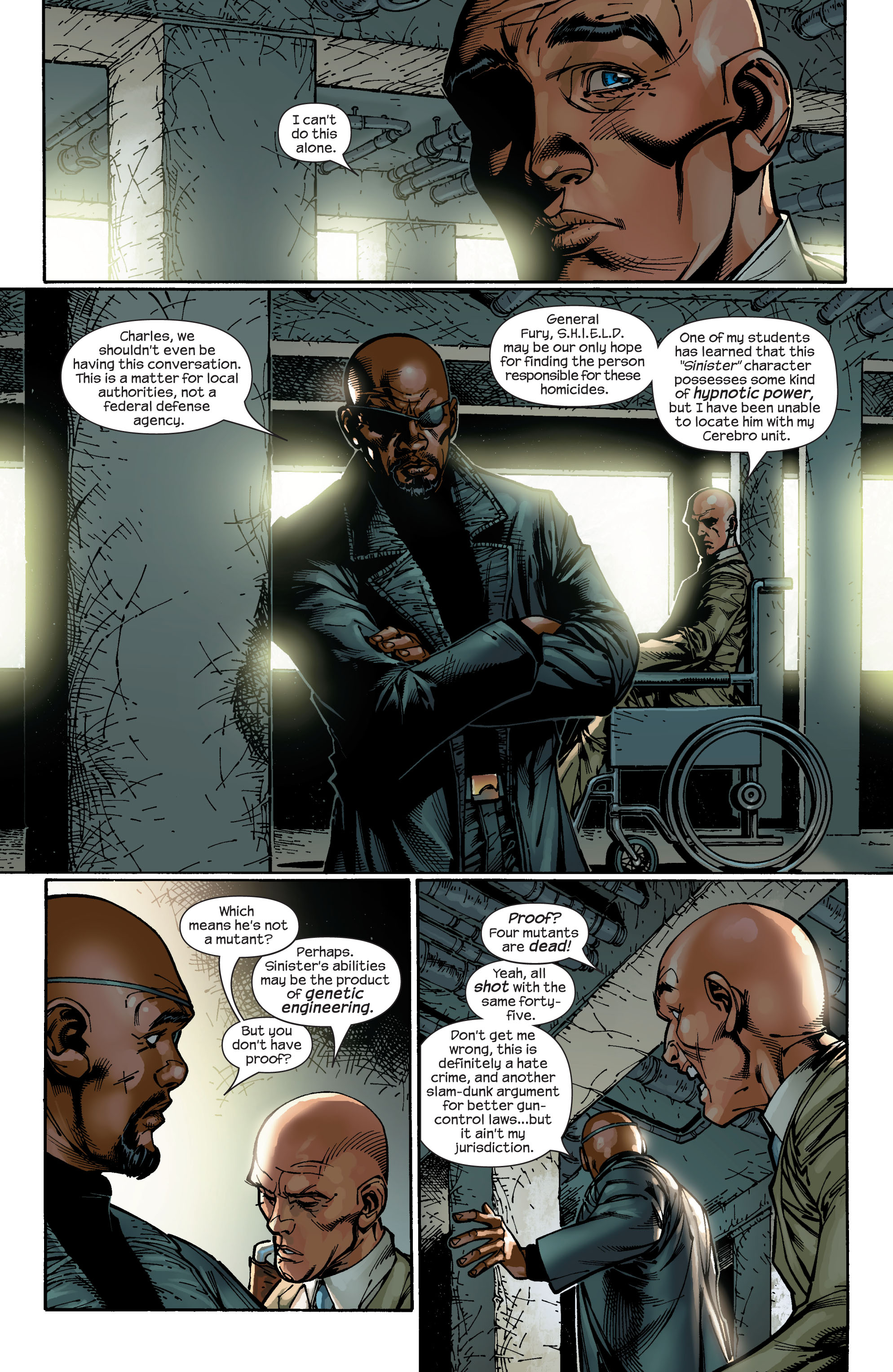 Read online Ultimate X-Men comic -  Issue #47 - 15
