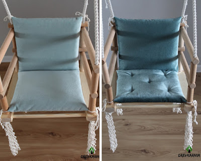 baby swing wooden and soft