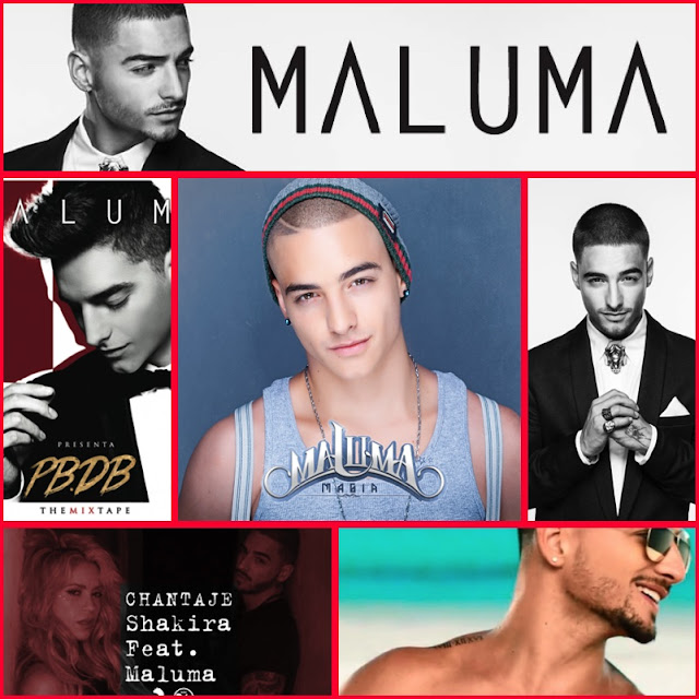 Maluma – 3 discos