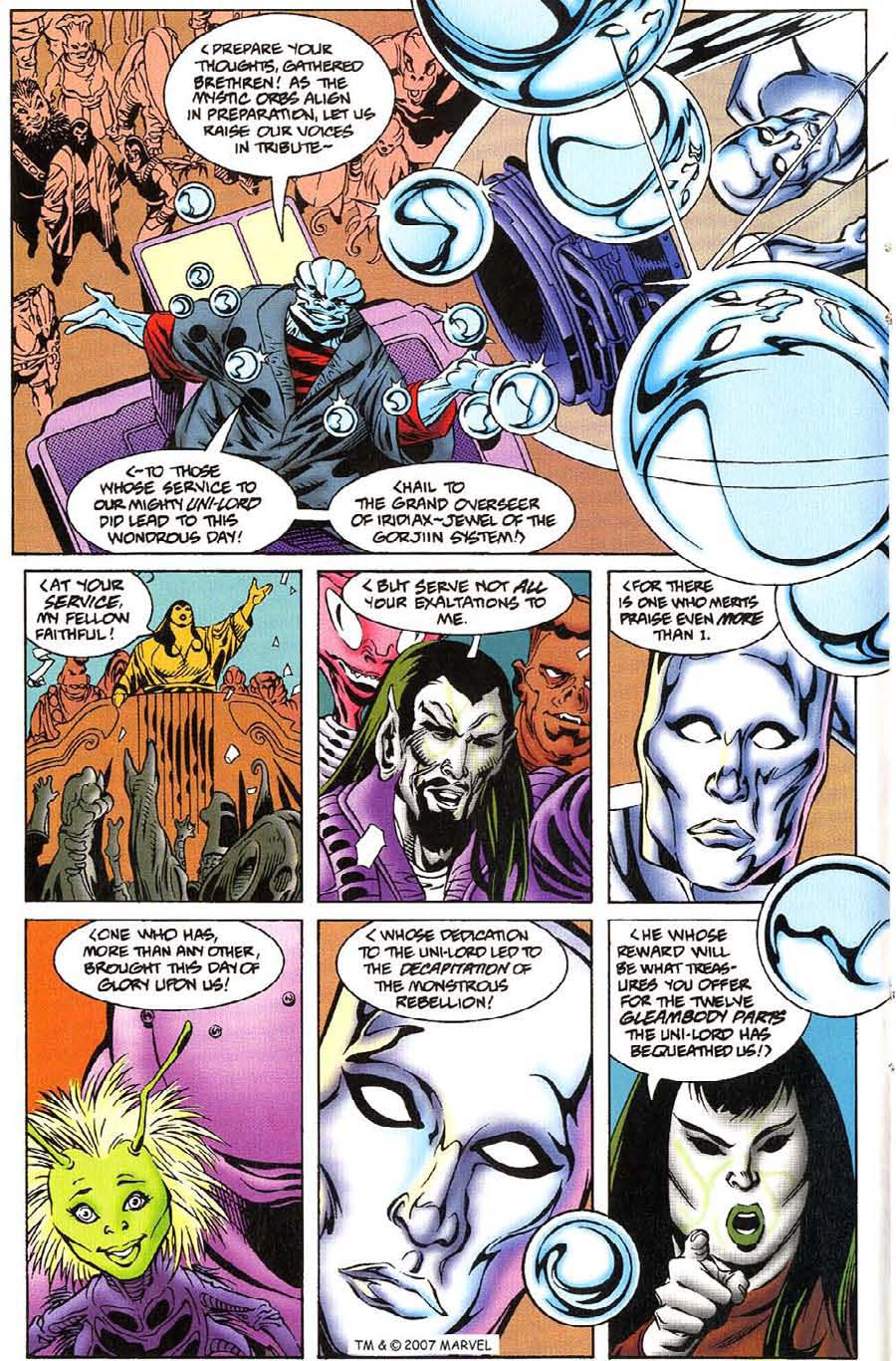 Read online Silver Surfer (1987) comic -  Issue #115 - 16