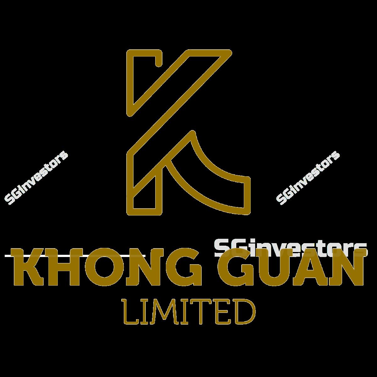 KHONG GUAN LIMITED (SGX:K03) @ SGinvestors.io