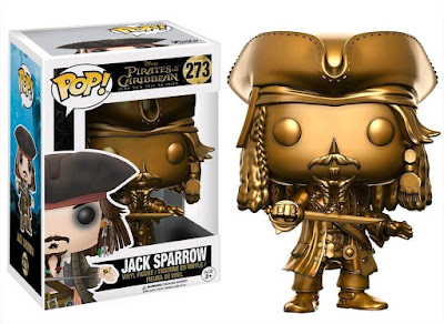 Gold Captain Jack Sparrow