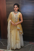 Nivetha Thamos in bright yellow dress at Ninnu Kori pre release function ~  Exclusive (75).JPG