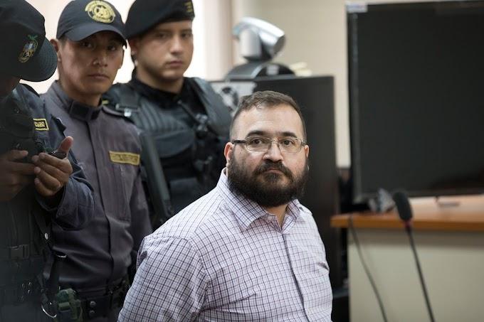 Fecha de extradición de Javier Duarte se conocerá en próxima audiencia