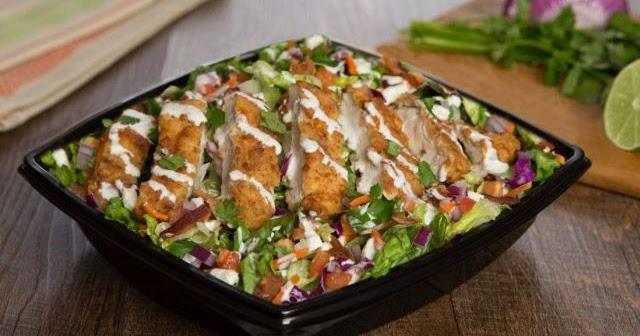 Golden Fried Chicken Salad Returns To The Habit Brand Eating