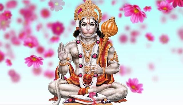 God Hanuman HD Wallpaper In White Background