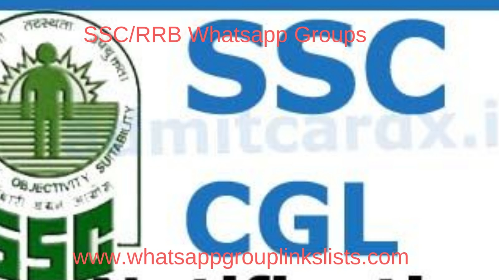 Join SSC/RRB Whatsapp Group Links List