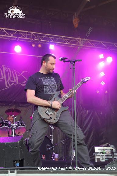 Nydvind @Ragnard Rock Fest 2015, Simandre-sur-Suran 18/07/2015