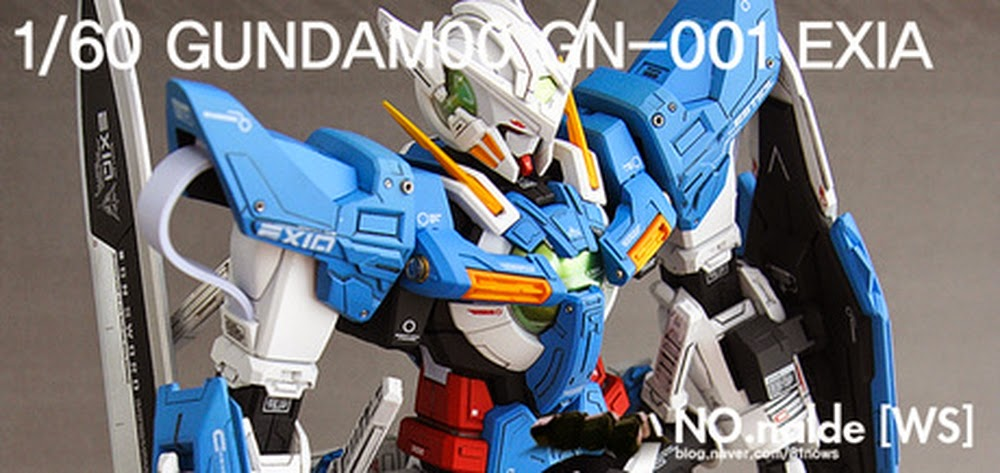 53c2862e6e6 Custom Build  1 60 GN-001 Gundam Exia