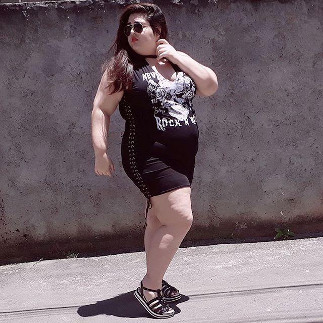 gorda blogueira moda