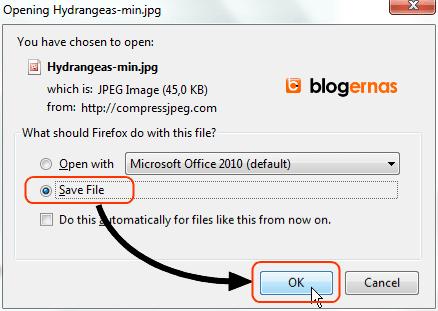 Cara Kompres Foto secara Online di Compress JPEG