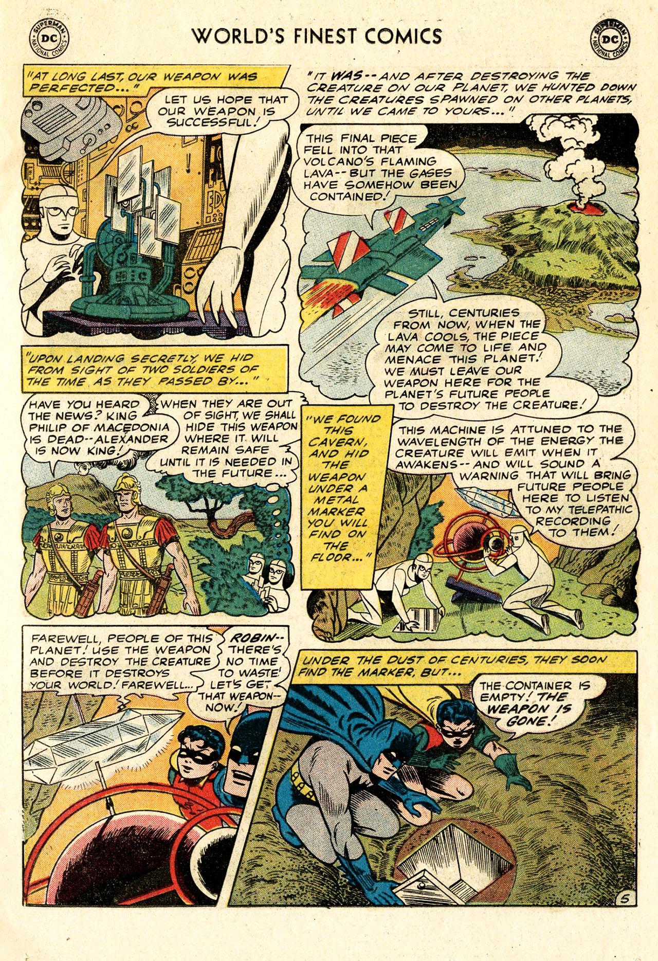 Read online World's Finest Comics comic -  Issue #107 - 7