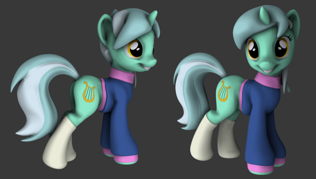 Equestria Daily Mlp Stuff Hashbro S 3d Pony Models