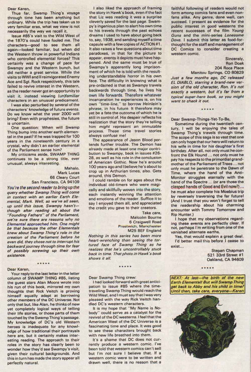 Swamp Thing (1982) Issue #89 #97 - English 27