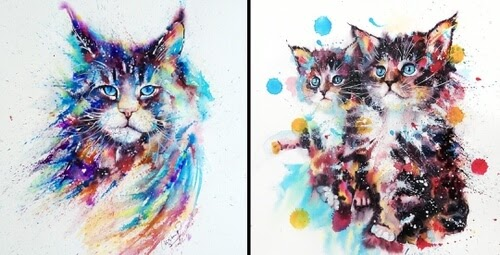 00-Cat-Watercolor-Paintings-liviing-www-designstack-co
