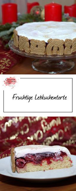 Meine liebsten Weihnachtsrezepte | Fruchtige Lebkuchentorte